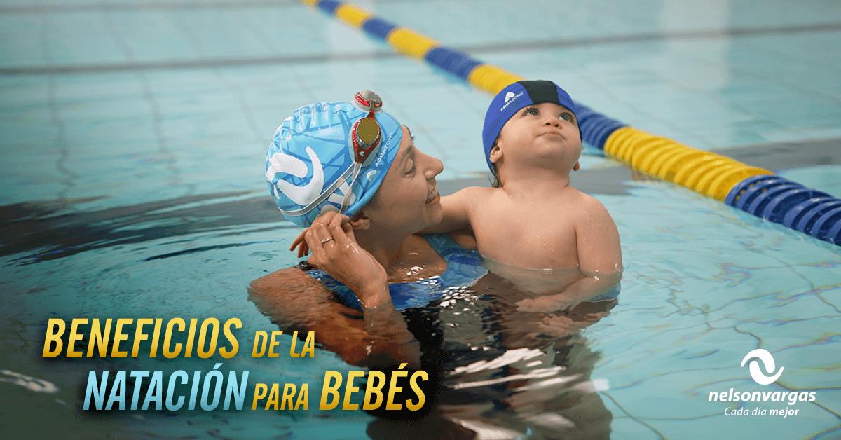5 beneficios de la natación en bebés