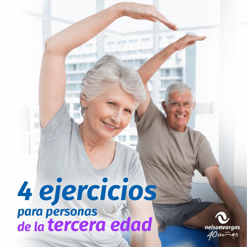 4 actividades físicas para las personas de la tercera edad
